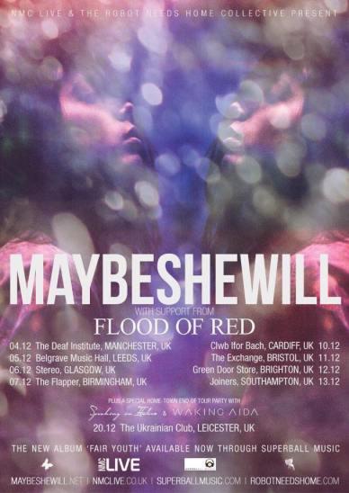 Maybeshewill UK Tour