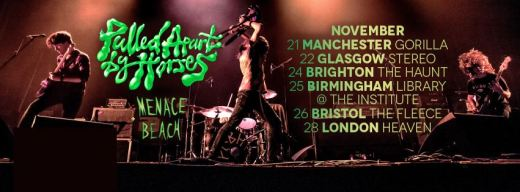 Pulled Apart By Horses - Live in Manchester 21/11/14