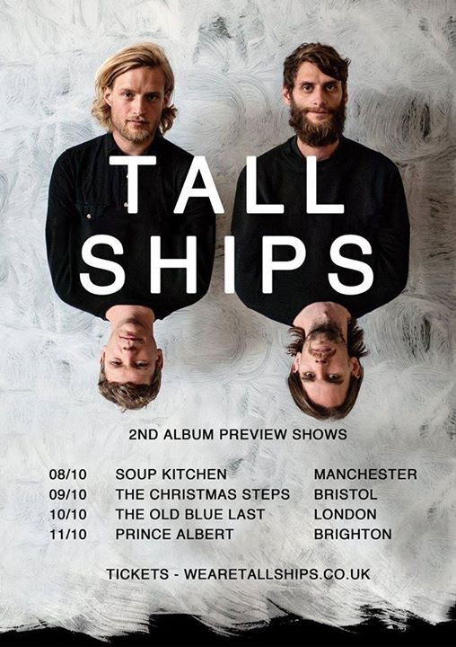 Tall Ships - Soup Kitchen, Manchester 8/10/14