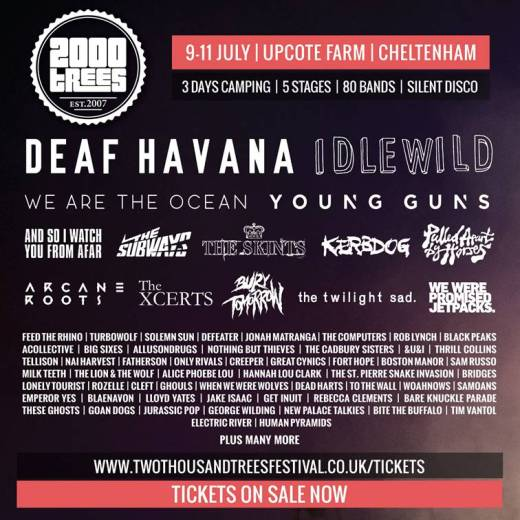 2000trees Festival adds even more names to its stacked line-up!