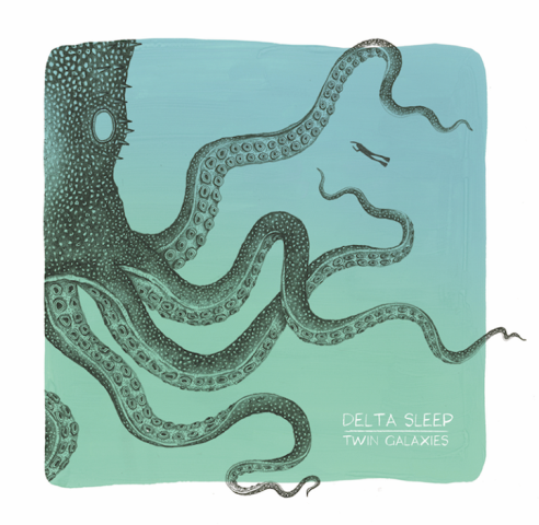 Twin Galaxies by Delta Sleep, out June 15th through Big Scary Monsters
