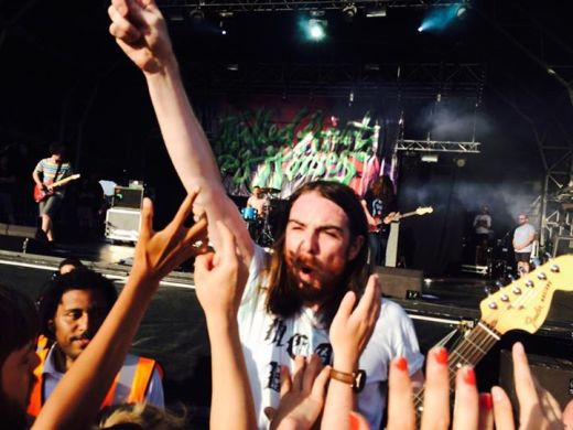Up close and personal with Pulled Apart By Horses at Godiva Festival in Coventry