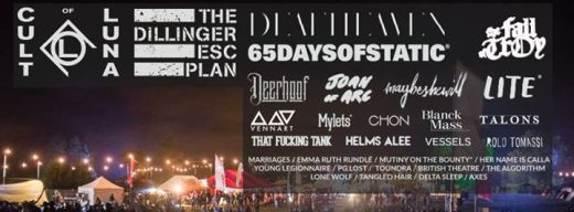 ArcTanGent Festival Line-up 2015