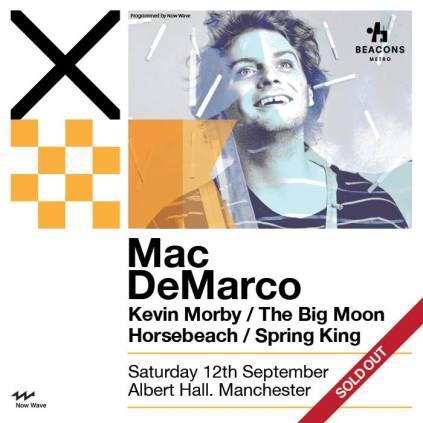 Mac DeMarco - The Albert Hall, Manchester 12/9/15