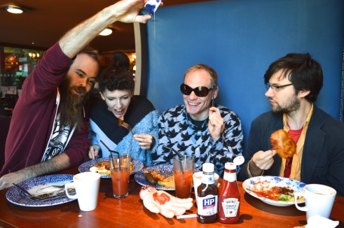 Exclusive: Giant Burger debut new single 'Hard Plaice'