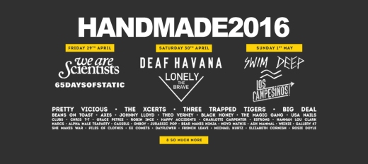 Tickets available for Handmade Festival 2016 here!