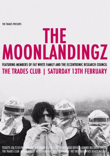 The Moonlandingz - The Trades Club, Hebden Bridge 13/2/16