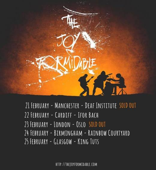 Live Review from The Joy Formidable in Manchester