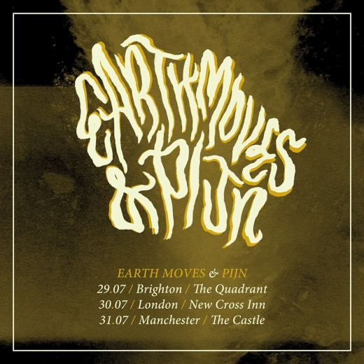 Pijn on tour with Earth moves