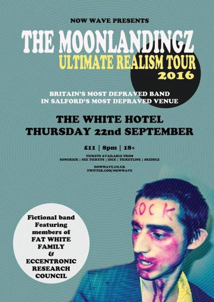 The Moonlandingz – The White Hotel, Salford 22/9/16