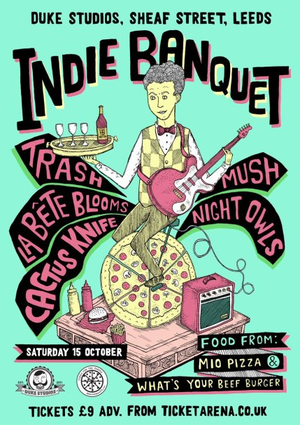 Music, Munch And Mayhem: Pizza For The People Go All Out For Their Inaugural Indie Banquet