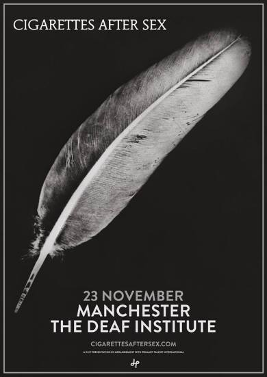 Cigarettes After Sex – The Deaf Institute, Manchester 23/11/16