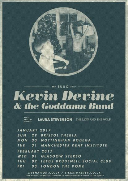 Kevin Devine & The Goddamn Band - The Deaf Institute, Manchester