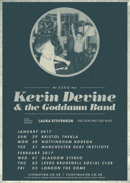 Kevin Devine & The Goddamn Band - The Deaf Institute, Manchester