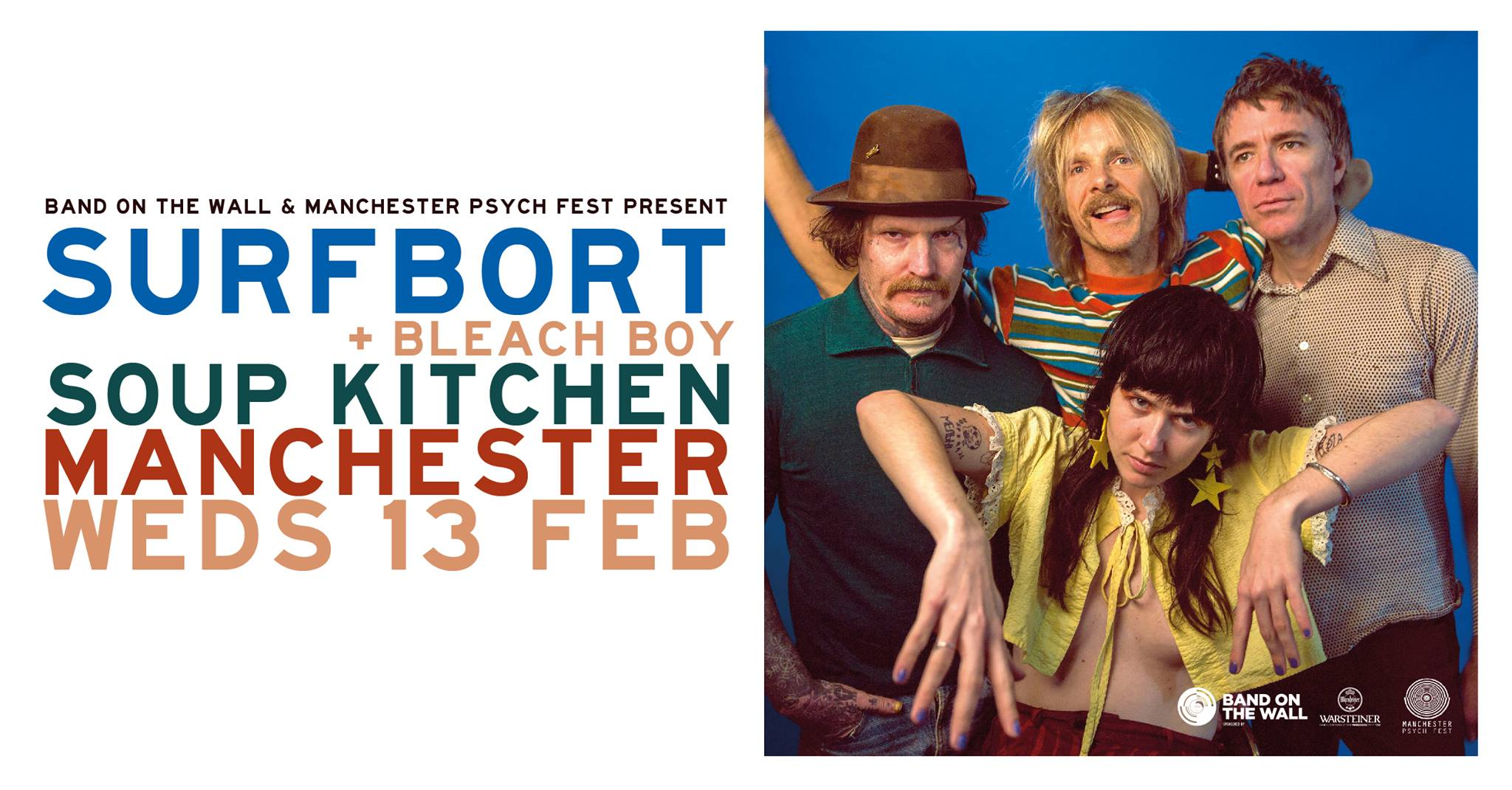06d6711a70d7 Live Review  Surfbort at Soup Kitchen in Manchester 13 February 2019 ...